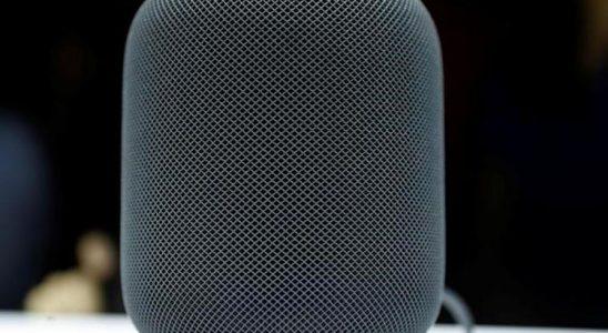 Apple lance son enceinte HomePod avec un mois de retard