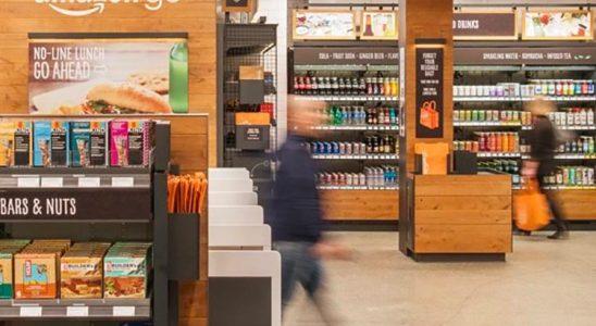 Amazon boutique sans caisse état unis