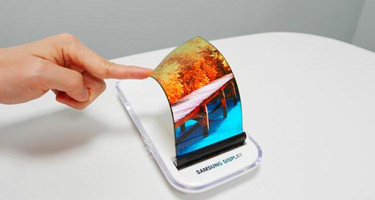 smartphone à écran flexible de Samsung, le Galaxy X