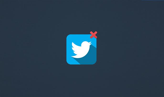 comment supprimer compte twitter