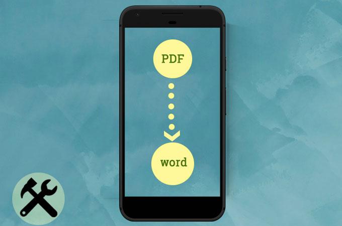 convertir PDF en word Android