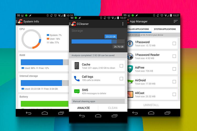 Comment nettoyer son mobile Android avec CCleaner