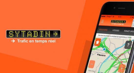 Sytadin application mobile trafic temps réel