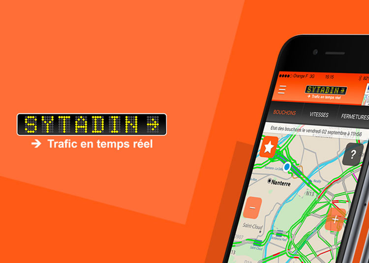 Sytadin application mobile trafic temps réel
