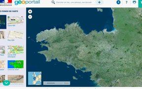 Geoportail drone