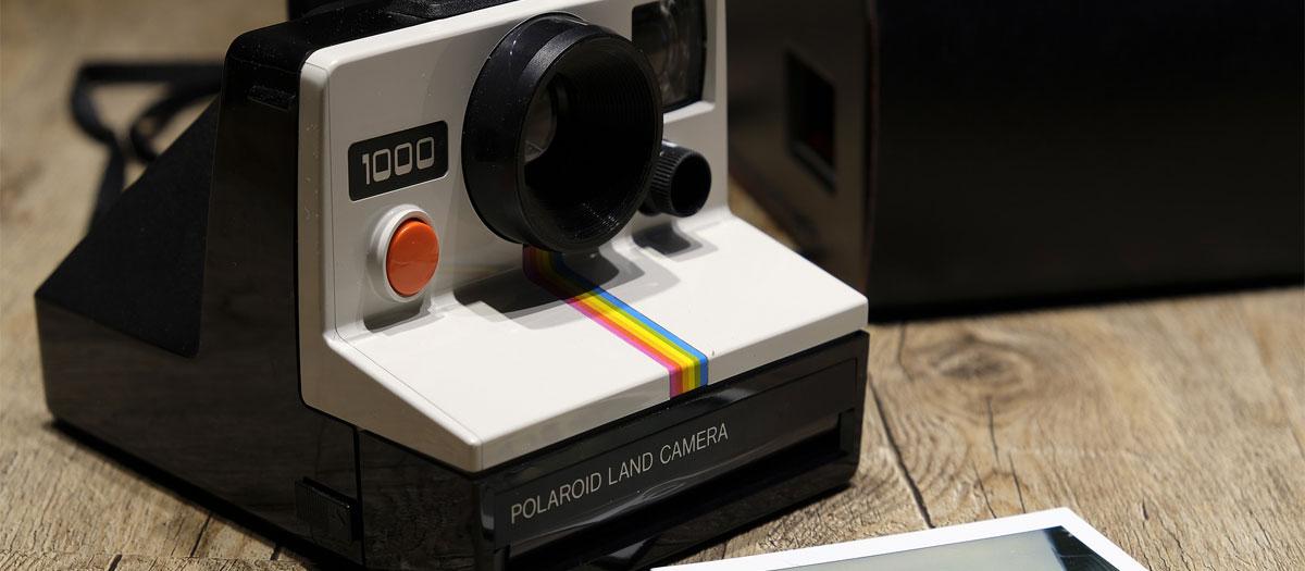 test appareil photo Polaroid